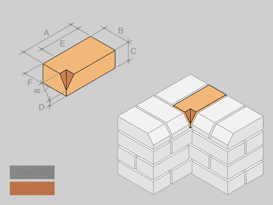 PL.5 Plinth Internal Return (Short)